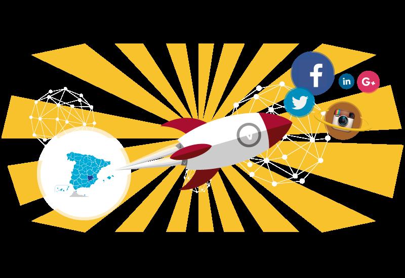 gestión de redes sociales en albacete