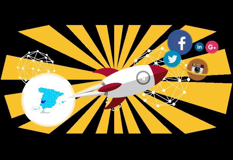gestión de redes sociales en badajoz