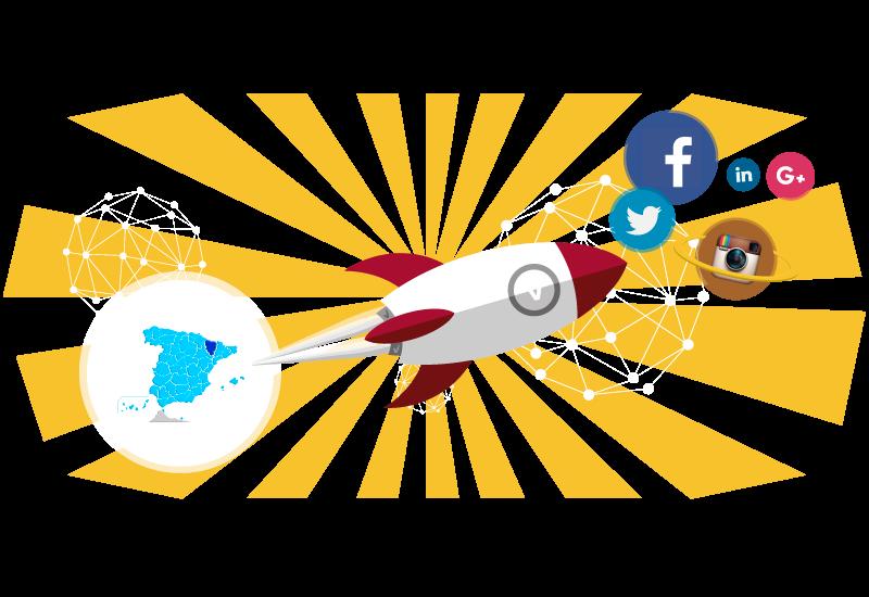 gestión de redes sociales en huesca