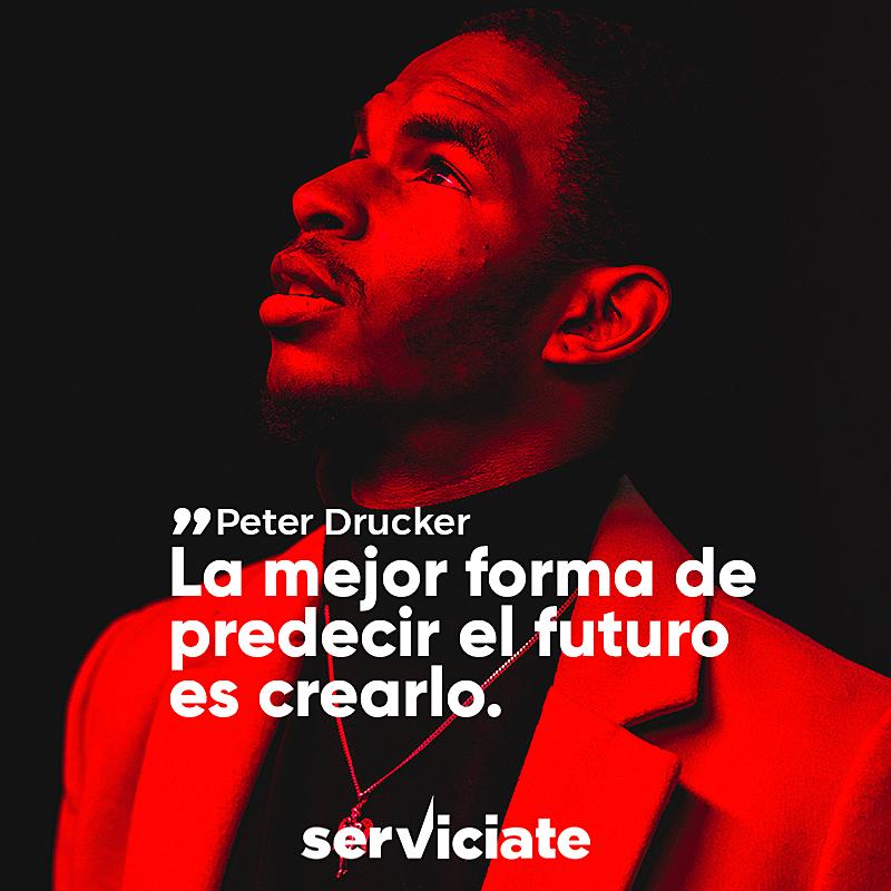 La mejor forma de predecir el futuro es crearlo.